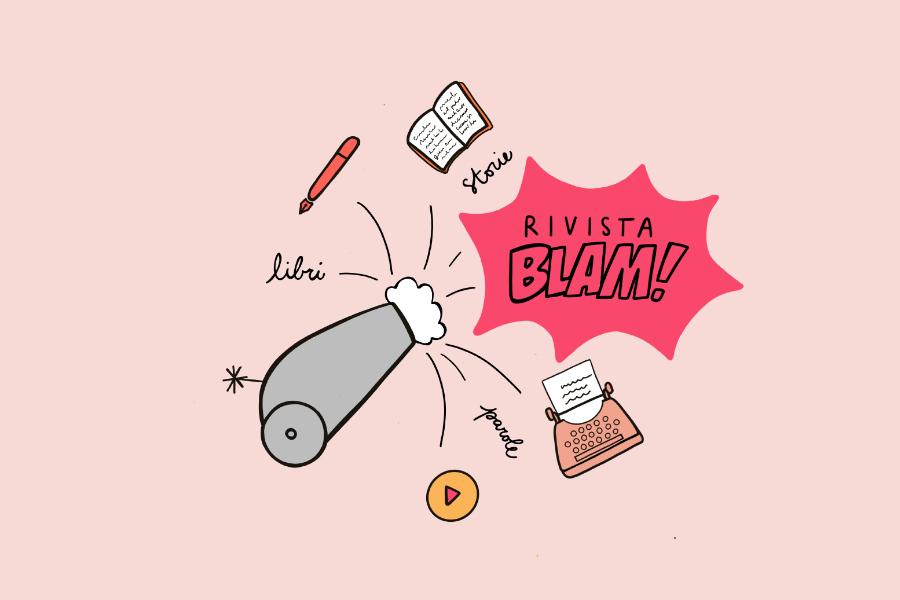 Un mio racconto su Rivista Blam